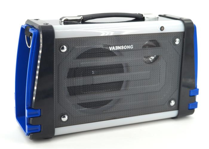LK-K51L Портативная колонка с Bluetooth/FM/USB/SD