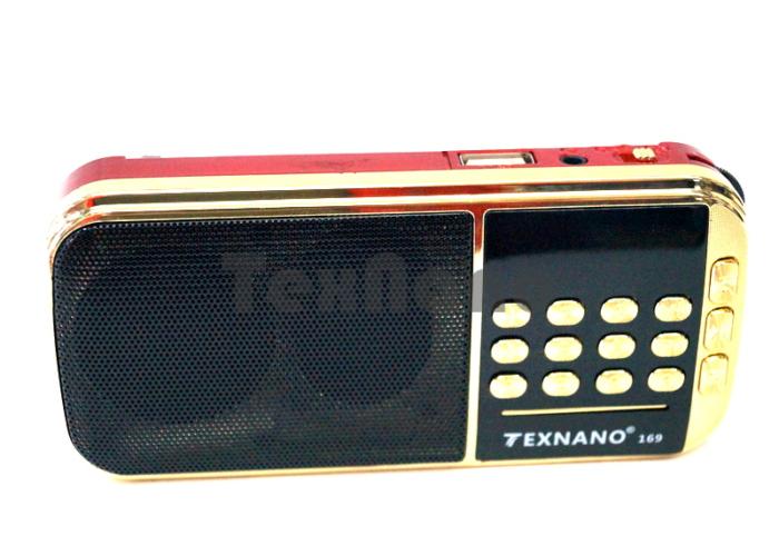 TE-169 Радиоприемник с USB проигрывателем «TEXNANO»