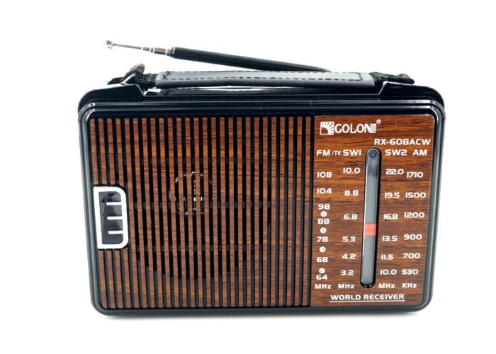 RX-608ACW Радиоприемник «GOLON»