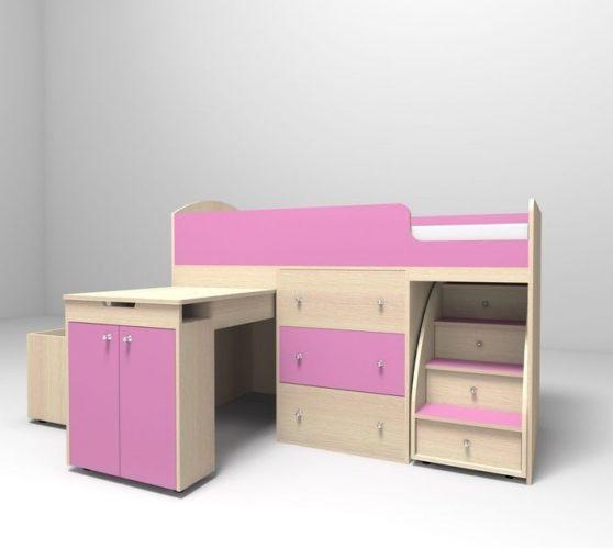 Кровать «Ярофф Малыш» 800х1800мм