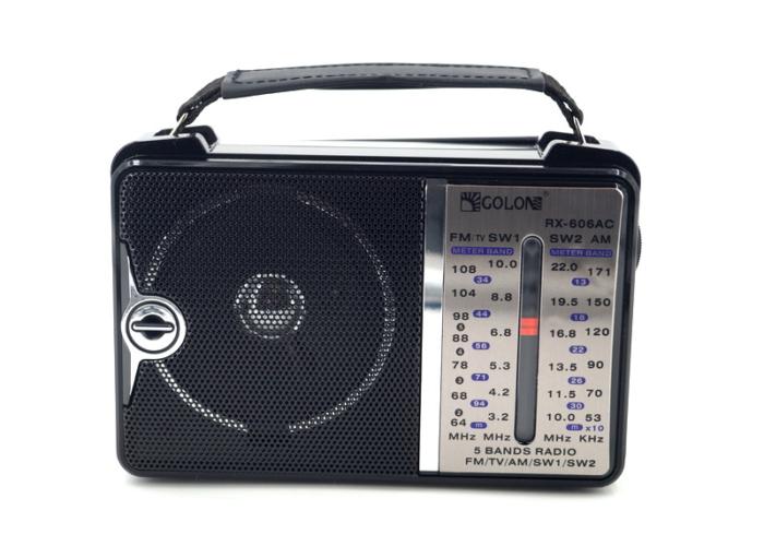 RX-606AC Радиоприемник «GOLON»