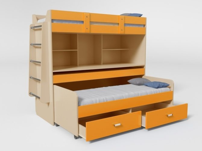 Двухъярусная кровать № 2
