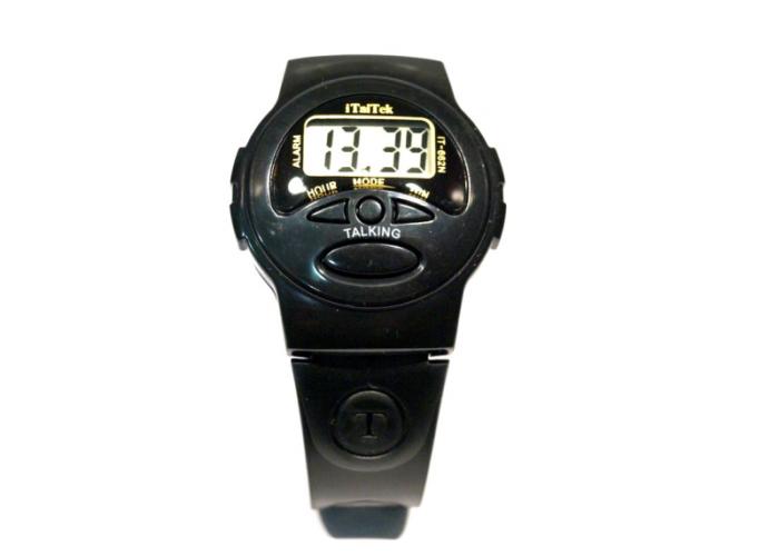 IT-662N Наручные Электронные Говорящие часы ( Для слепых )