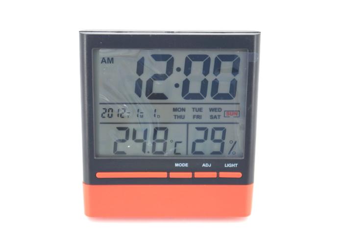 GX-318S Часы/термометр/влажность/календарь