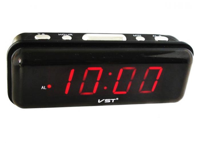 VST-738-1 Электронные сетевые часы