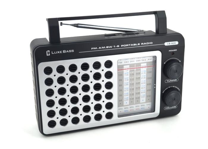 LB-A24 Радиоприемник «Luxe Bass»