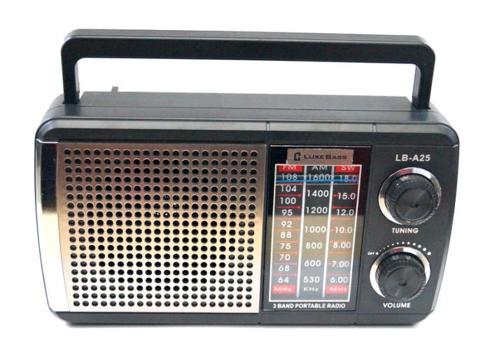 LB-A25 Радиоприемник «Luxe Bass»