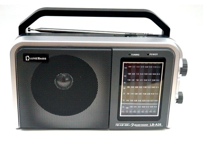 LB-A26 Радиоприемник «Luxe Bass»