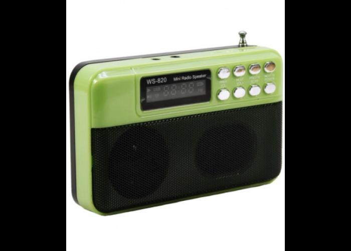 WS-820 Радиоприемник FM/USB