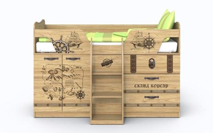 Кровать «Корсар-2»