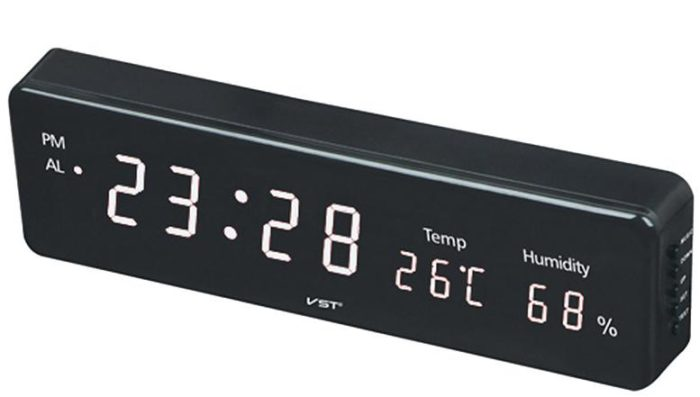VST-805S-6 Электронные сетевые часы