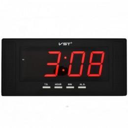 VST-729-1 Часы электронные, красные. Большие настенные