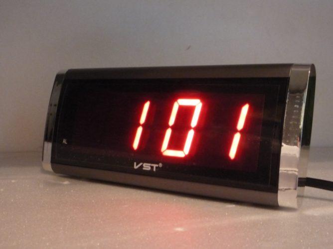 VST-730-1 Электронные сетевые часы