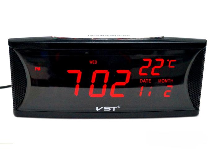 VST-719W-1 Электронные сетевые часы