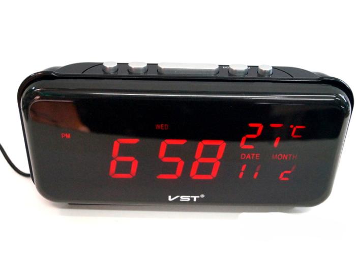 VST-806W-1Электронные сетевые часы