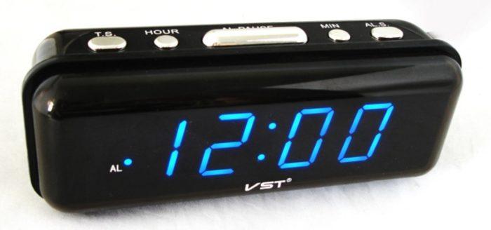 VST-738-5 Электронные сетевые часы