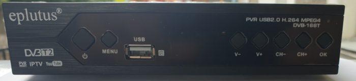 Цифровая приставка Eplutus DVB-166T
