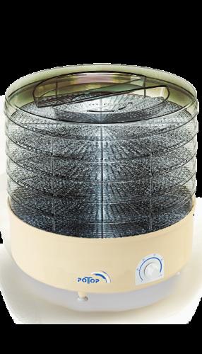 Сушка Дива 3 секции 12 литров (прозрачная)