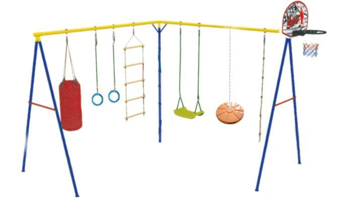 Детский игровой комплекс «Стрекоза-3» без горки