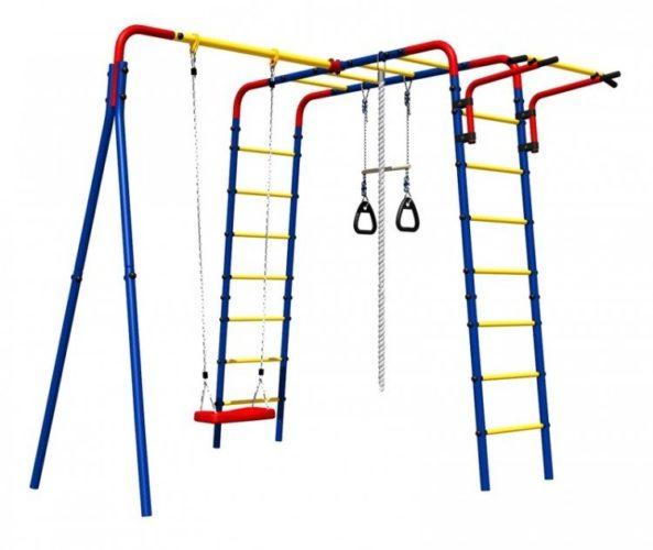 Детский игровой комплекс «Веселая лужайка»