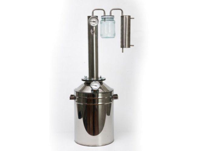 Дистиллятор ЦФБ с вертикальной царгой 13 литров