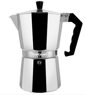 Кофеварка гейзерная WEBBER BE-0120