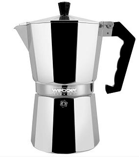 Кофеварка гейзерная WEBBER BE-0121