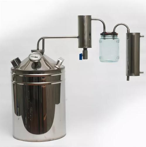 Дистиллятор с 2 сухопарниками 35 литров