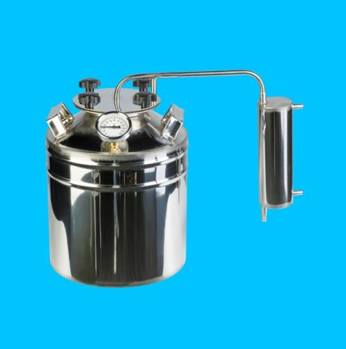 Дистиллятор с широким горлом 13 литров