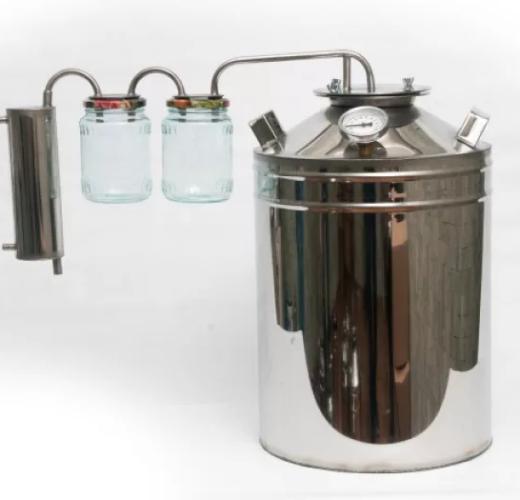Дистиллятор ББТФ с 2 банками-сухопарниками 13 литров