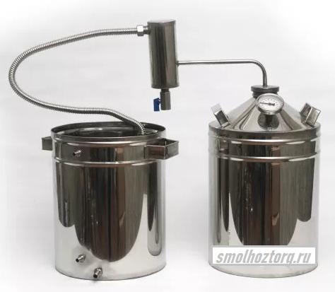 Дистиллятор ДТ  дачный с металлическим сухопарником 13 литров
