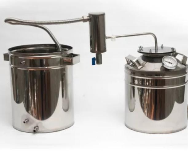 Дистиллятор ДТФ дачный с металлическим сухопарником 50 литров