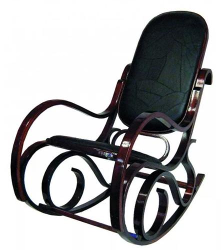 Кресло-качалка «Wink 20048WCL» кожа