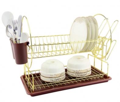 Сушка для посуды Zeidan Z-11003 2-х ярусная