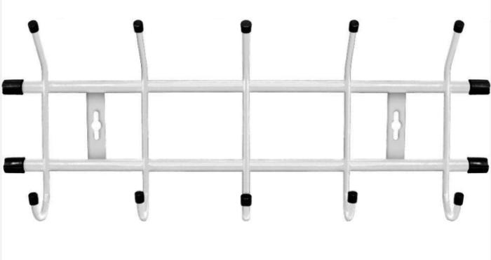 Вешалка НИКА настенная ВН 5 Белый