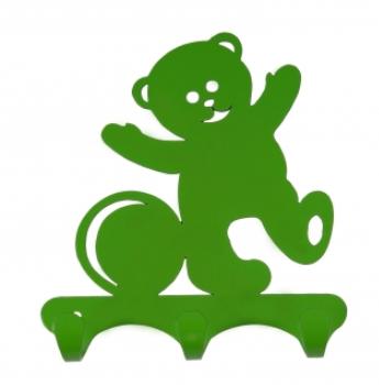 Вешалка ЗМИ листовая ВН306 Зеленый Мишка