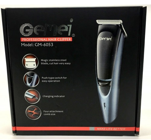 Машинка для стрижки Gemei pro GM-6053
