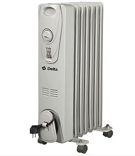 Масляный радиатор Delta 7 без вентилятора