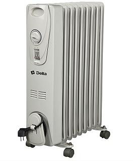 Масляный радиатор Delta 9 без вентилятора