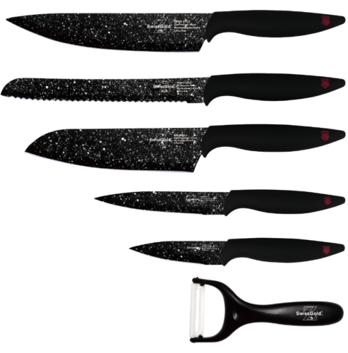 Набор ножей Swiss Gold SG-9214